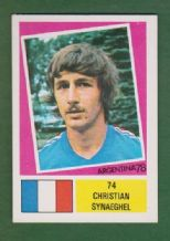 France Christian Synaeghel St Etienne 74